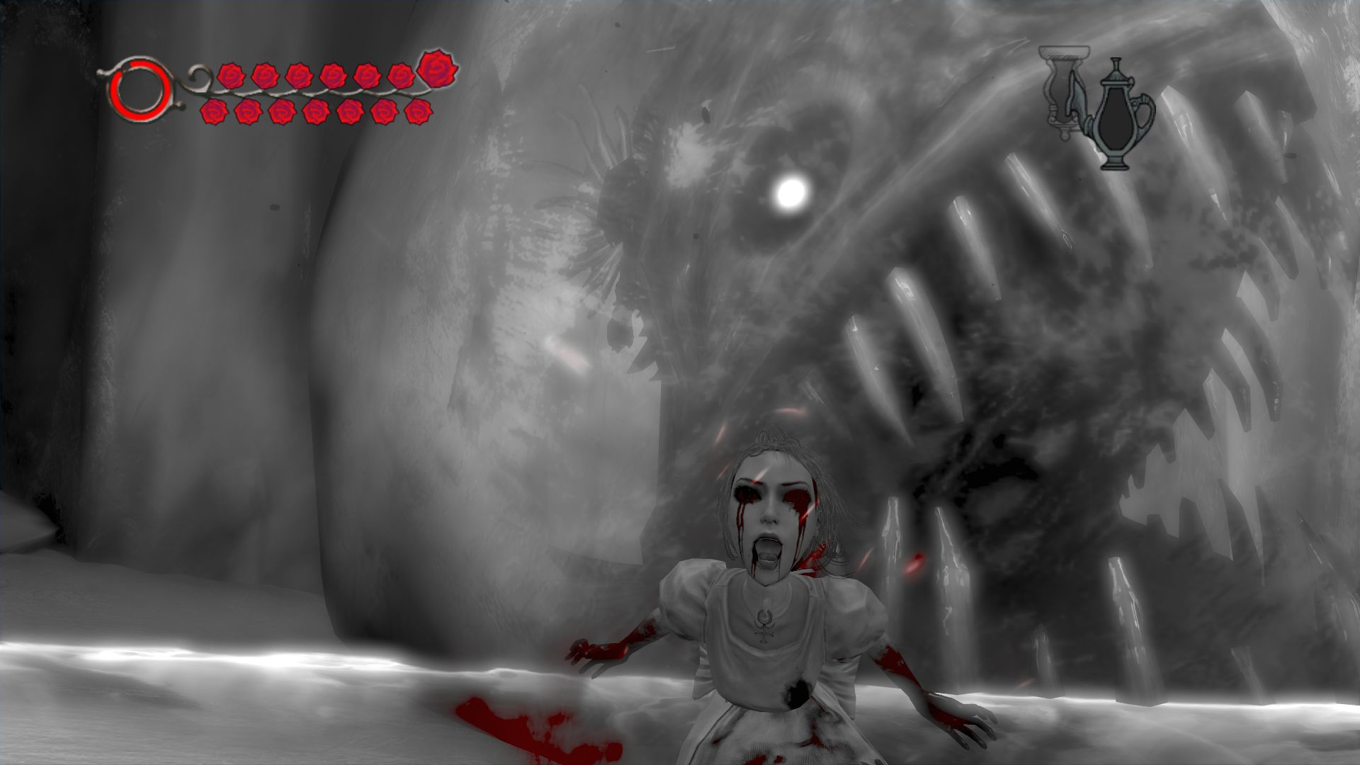 how does fear and hysteria play I can't find out how to use hysteria mode on alice: madness returns, for ps3 you can also use hysteria mode at anytime if you have the meat dress equipped from the dlc l3 does the trick again, as mentioned from other answers~~.